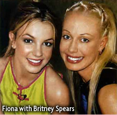 Fiona with Brittney Spears